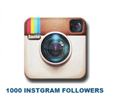 1000 INSTAGRAM FOLLOWERS