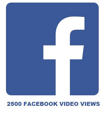 2500 FACEBOOK VIDEO VIEWS