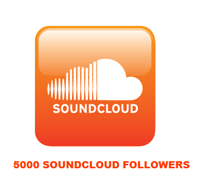 5000 SOUNDCLOUD FOLLOWERS