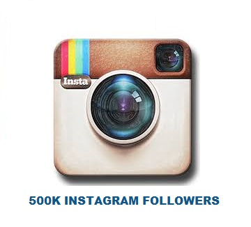 500K INSTAGRAM FOLLOWERS