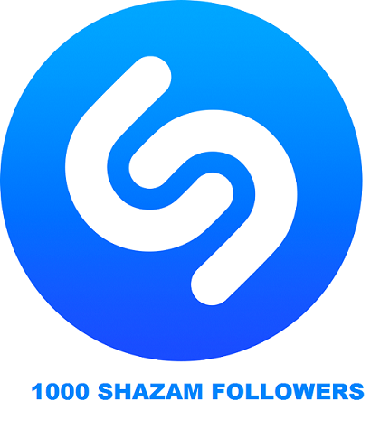 1000 SHAZAM FOLLOWERS
