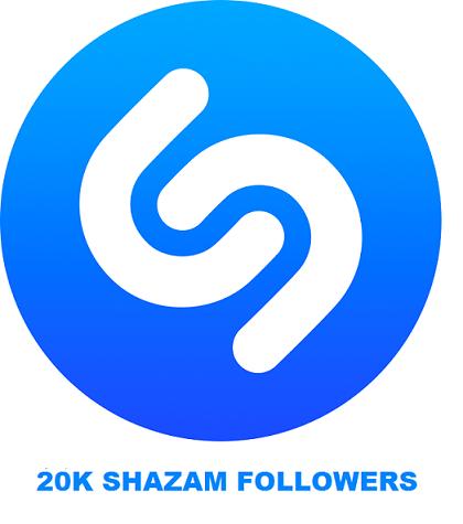 20K SHAZAM FOLLOWERS