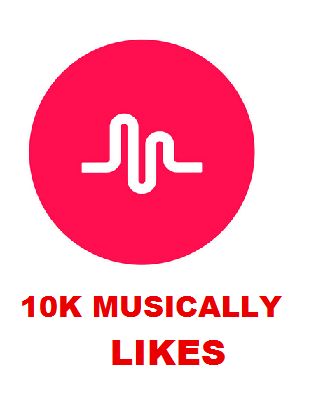 10K MUSICALLY LIKES