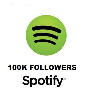 100K Spotify Followers