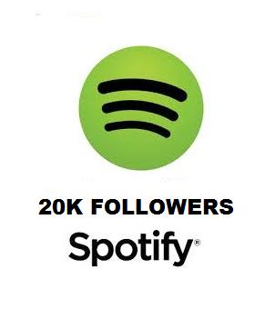 20K Spotify Followers